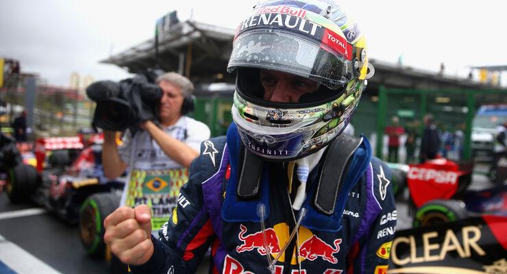 Sebastian Vettel - Quali - GP Brasilien 2013