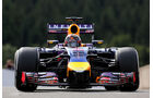 Sebastian Vettel - Red Bull - Formel 1 - GP Belgien - Spa-Francorchamps - 22. August 2014
