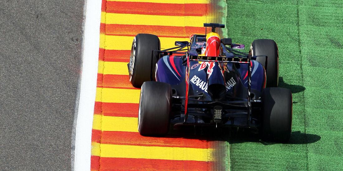 Sebastian Vettel - Red Bull - Formel 1 - GP Belgien - Spa-Francorchamps - 23. August 2013