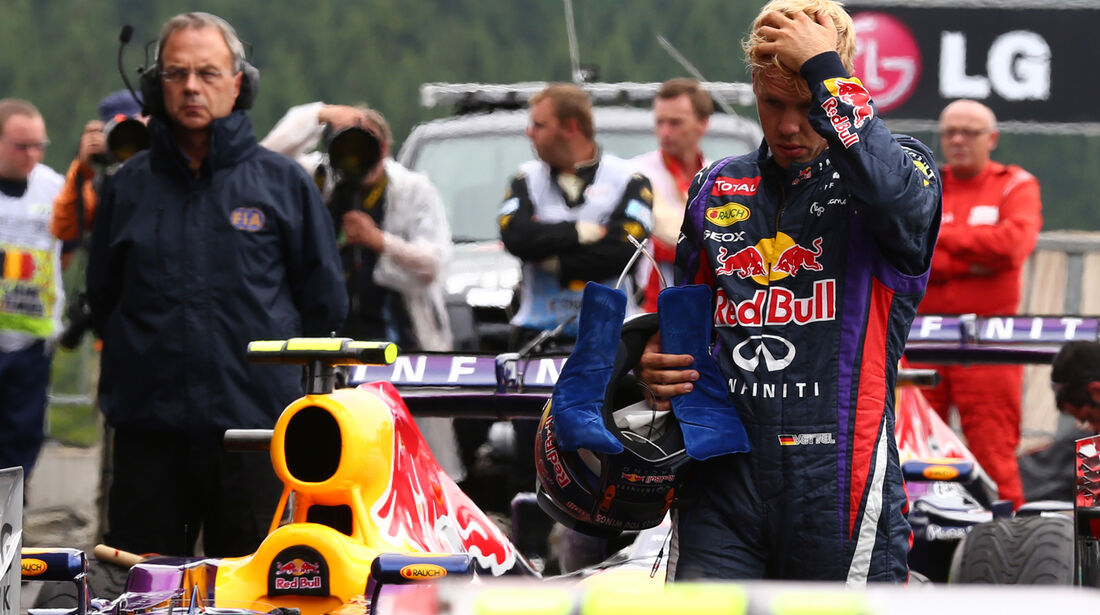 Sebastian Vettel - Red Bull - Formel 1 - GP Belgien - Spa-Francorchamps - 24. August