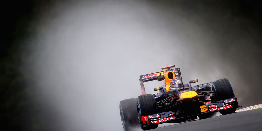 Sebastian Vettel - Red Bull - Formel 1 - GP Belgien - Spa-Francorchamps - 31. August 2012