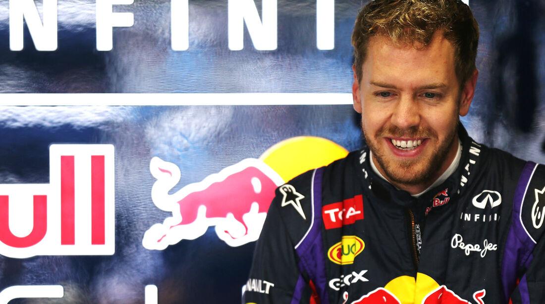 Sebastian Vettel - Red Bull - Formel 1 - GP Brasilien - 22. November 2013