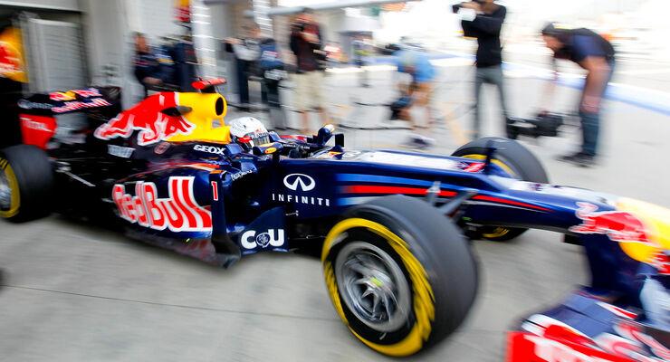 Sebastian Vettel - Red Bull - Formel 1 - GP Korea - 12. Oktober 2012