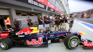 Sebastian Vettel - Red Bull - Formel 1 - GP Singapur - 21. September 2012