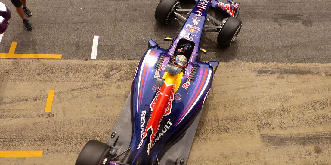Sebastian Vettel - Red Bull - Formel 1 - GP Spanien - Barcelona - 10. Mai 2014