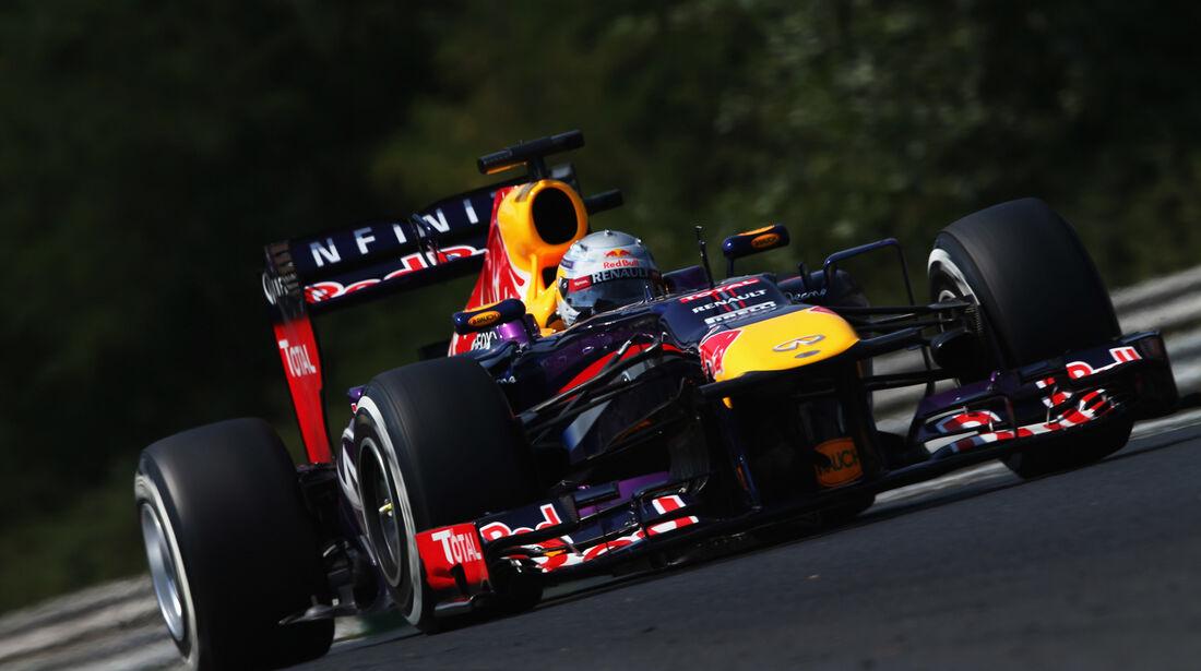 Sebastian Vettel - Red Bull - Formel 1 - GP Ungarn 2013