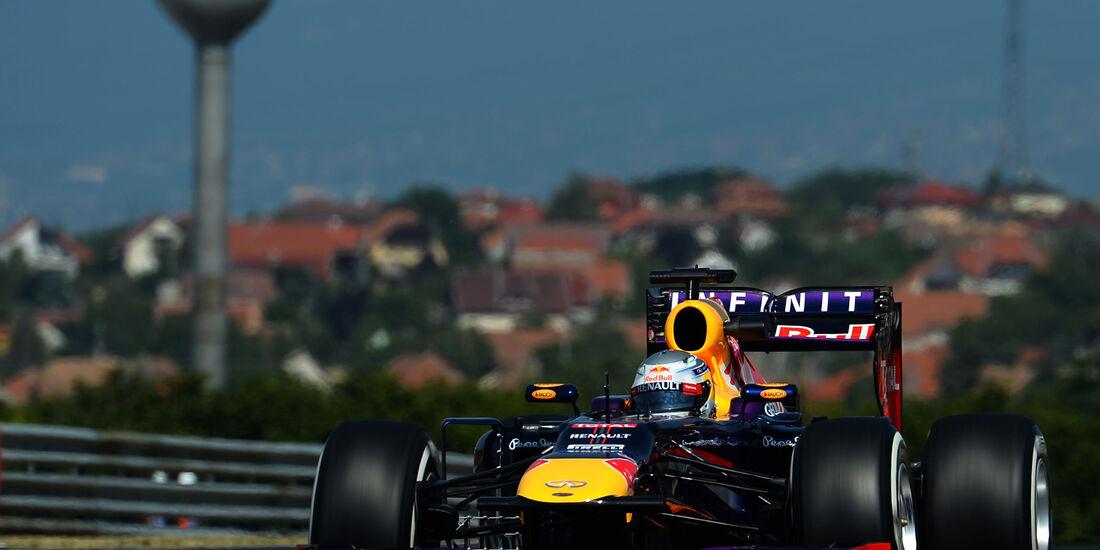 Sebastian Vettel - Red Bull - Formel 1 - GP Ungarn - 26. Juli 2013
