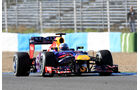 Sebastian Vettel, Red Bull, Formel 1-Test, Jerez, 7.2.2013