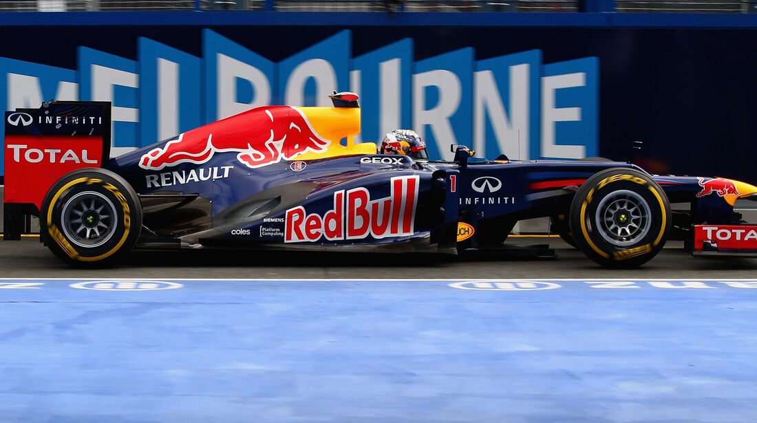 Sebastian Vettel Red Bull GP Australien 2012