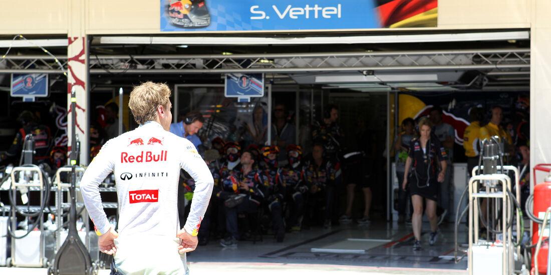 Sebastian Vettel Red Bull GP Europa F1 2012