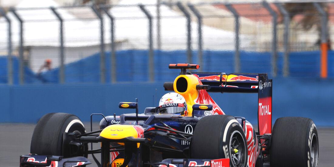 Sebastian Vettel - Red Bull - GP Europa - Valencia - Formel 1 - 22. Juni 2012