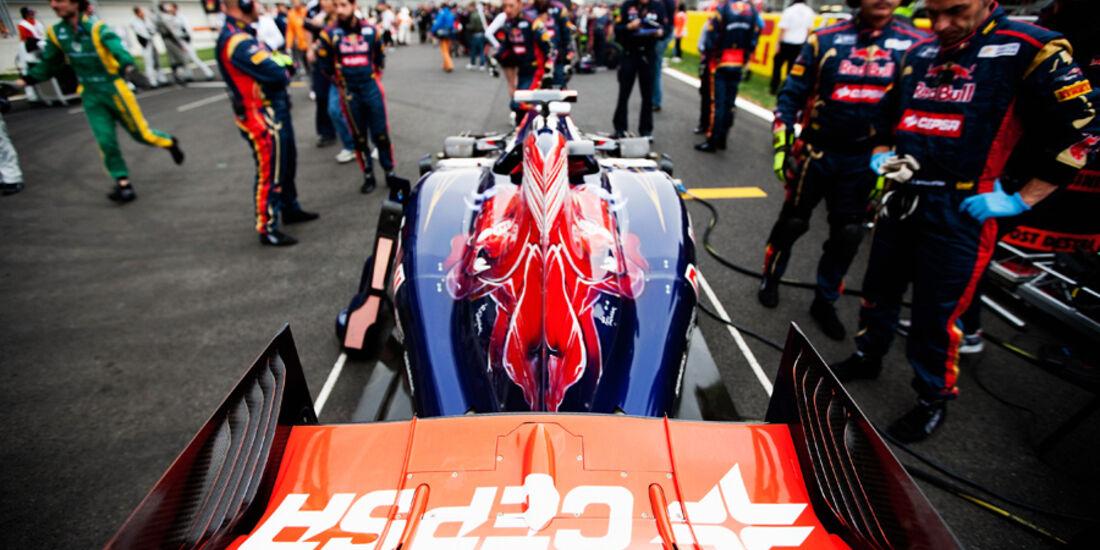 Sebastien Buemi Toro Rosso GP Korea 2011