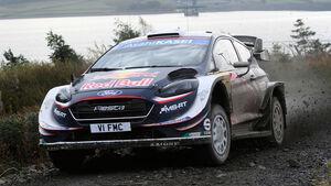 Sebastien Ogier - Rallye GB 2018