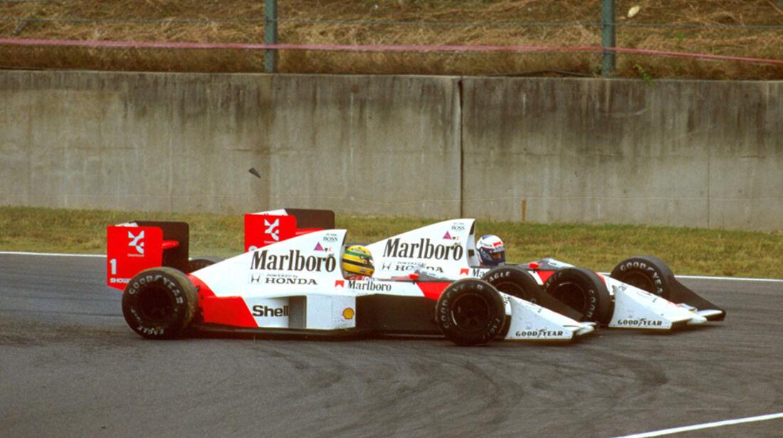 Senna & Prost 1989