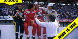 Senna - Prost - Mansell - Piquet - Ecclestone