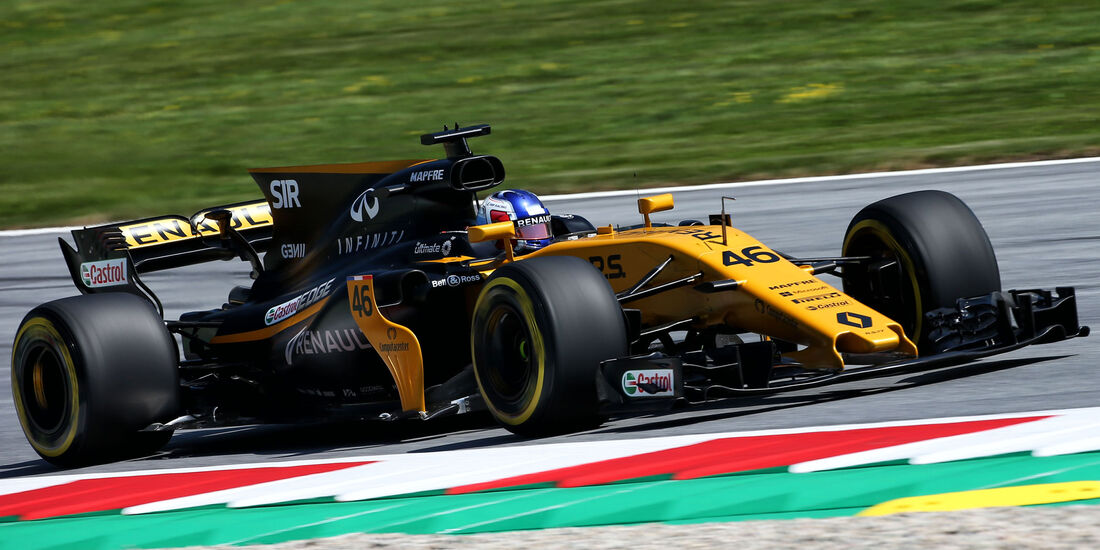 Sergey Sirotkin - Renault - GP Österreich - Spielberg - Formel 1 - Freitag - 7.7.2017
