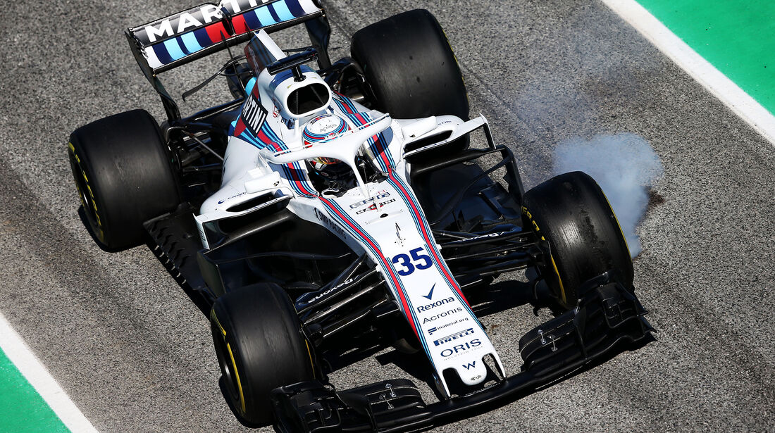 Sergey Sirotkin - Williams - F1-Test - Barcelona - Tag 6 - 7. März 2018