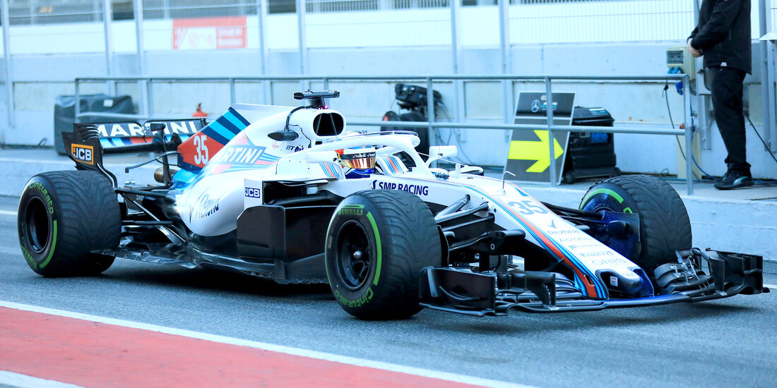 Sergey Sirotkin - Williams - F1-Test - Barcelona - Tag 8 - 9. März 2018