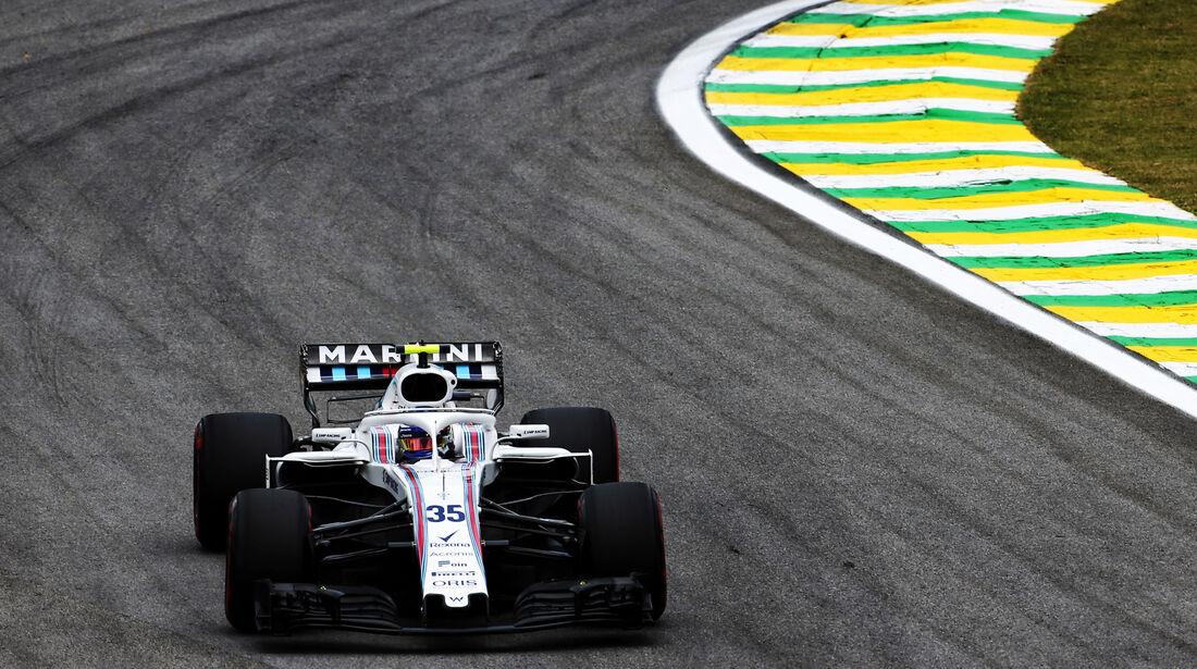 Sergey Sirotkin - Williams - GP Brasilien - Interlagos - Formel 1 - Freitag - 9.11.2018