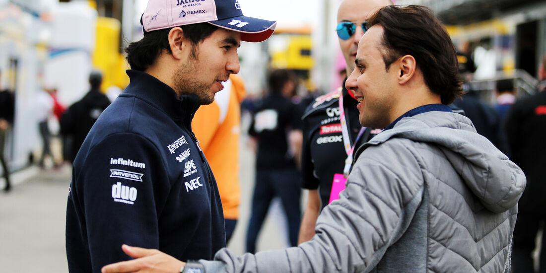 Sergio Perez & Felipe Massa - Formel 1 - GP Spanien - Barcelona - 12. Mai 2018