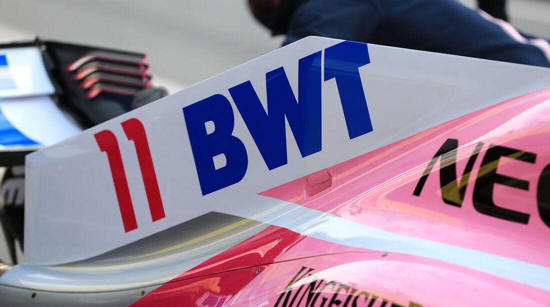 Sergio Perez - Force India - F1-Test - Barcelona - Tag 7 - 8. März 2018
