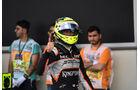 Sergio Perez - Force India - Formel 1 - GP Aserbaidschan - Baku - 18. Juni 2016