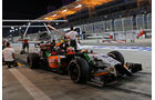 Sergio Perez - Force India - Formel 1 - GP Bahrain - Sakhir - 4. April 2014