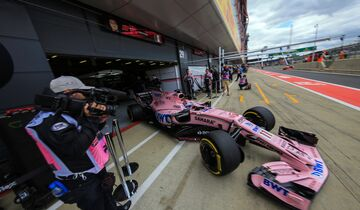 Sergio Perez - Force India - Formel 1 - GP England - 14. Juli 2017