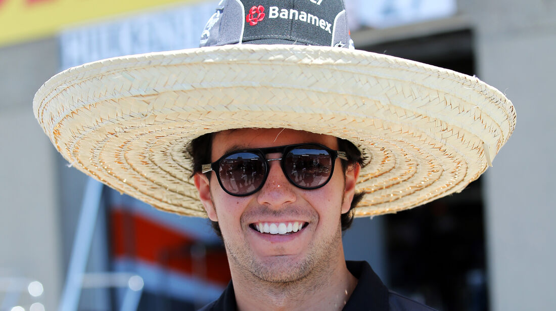 Sergio Perez - Force India - Formel 1 - GP Kanada - Montreal - 4. Juni 2015