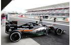 Sergio Perez - Force India - Formel 1 - GP Mexiko - 31. Oktober 2015
