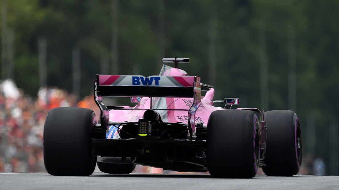 Sergio Perez - Force India - Formel 1 - GP Österreich - 30. Juni 2018