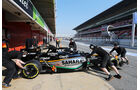 Sergio Perez - Force India - Formel 1-Test - Barcelona - 20. Februar 2015