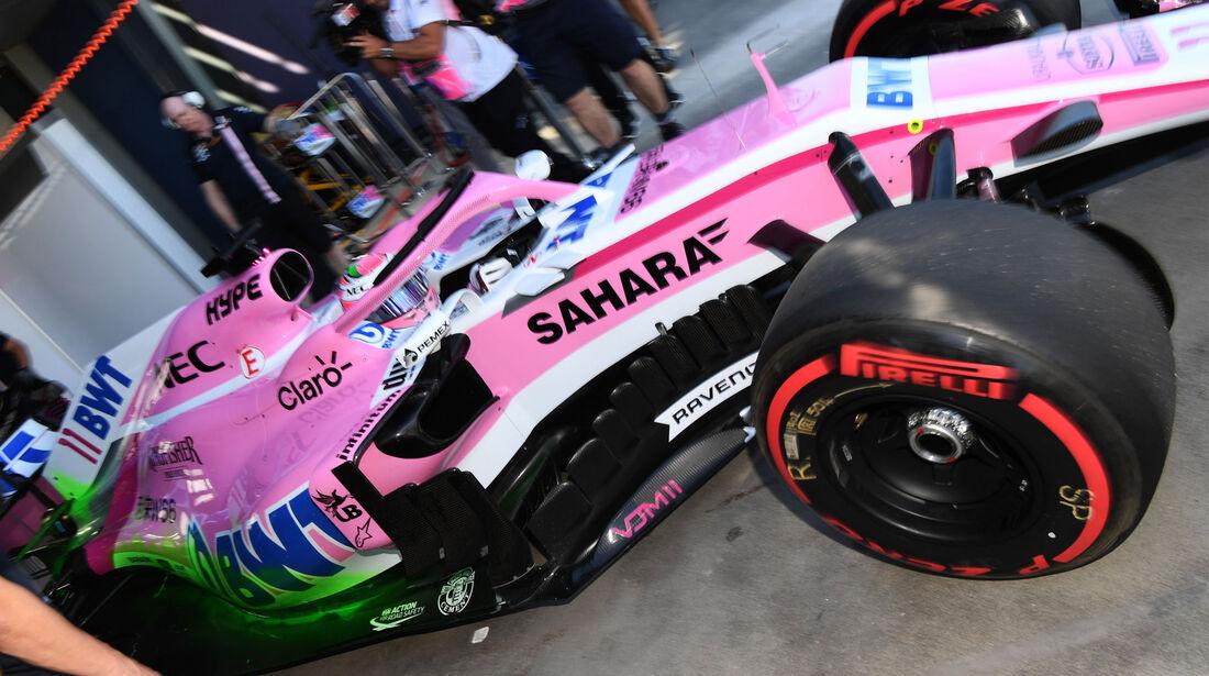 Sergio Perez - Force India - GP Australien 2018 - Melbourne - Albert Park - Freitag - 23.3.2018
