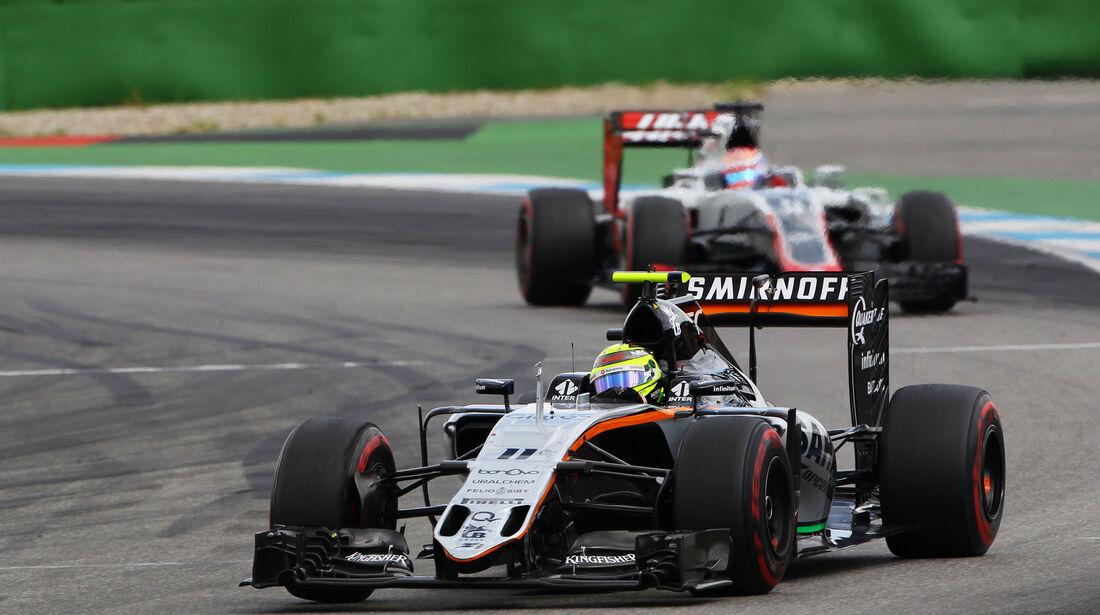 Sergio Perez - Force India - GP Deutschland 2016 - Hockenheim