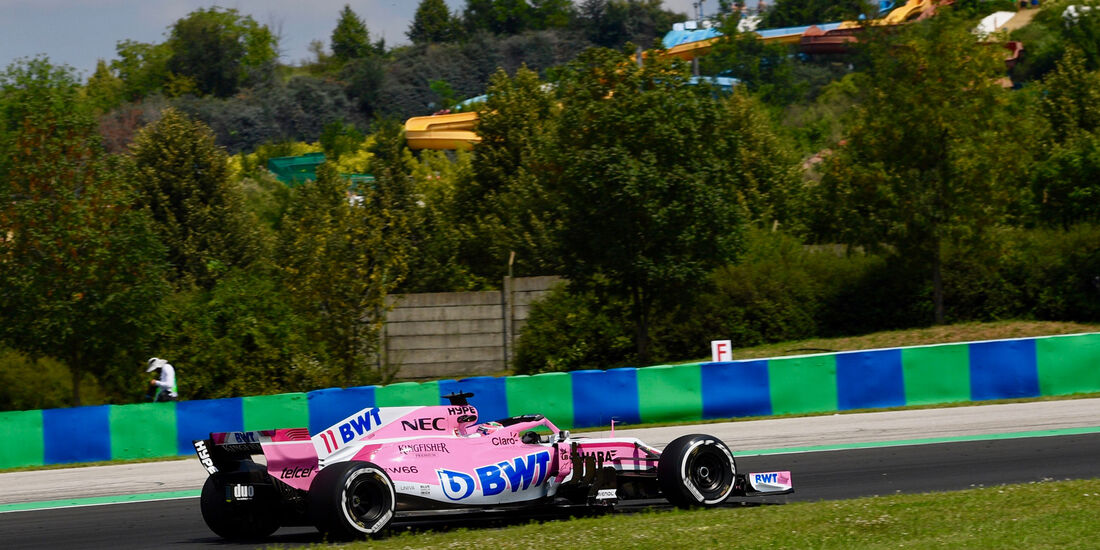 Sergio Perez - Force India - GP Ungarn - Budapest - Formel 1 - 27.7.2018