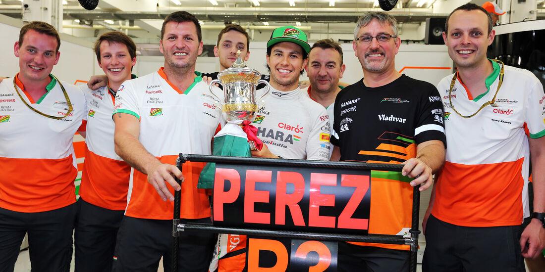 Sergio Perez - Formel 1 - GP Bahrain 2014