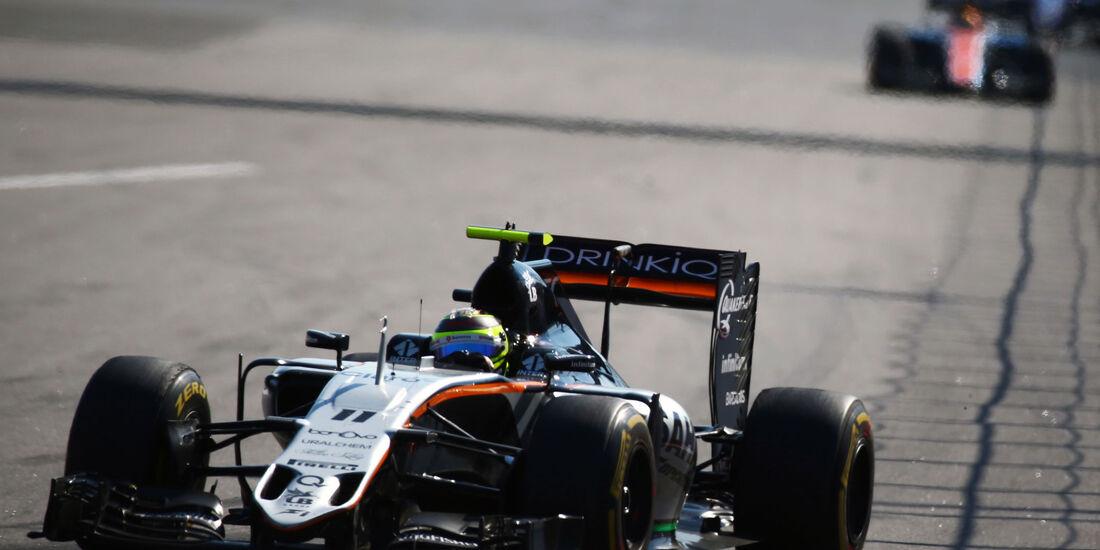 Sergio Perez - Formel 1 - GP Russland - 1. Mai 2016