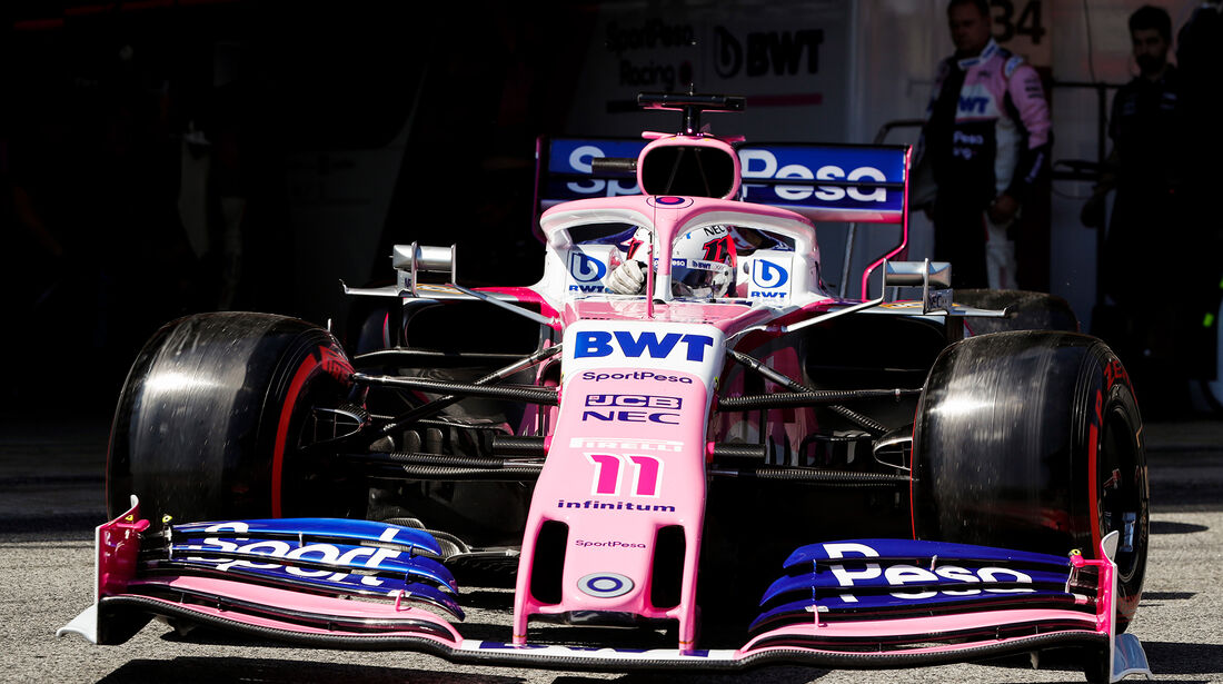 Sergio Perez - Formel 1 - GP Spanien 2019
