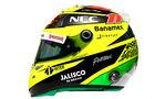 Sergio Perez - Formel 1 - Helm - 2016