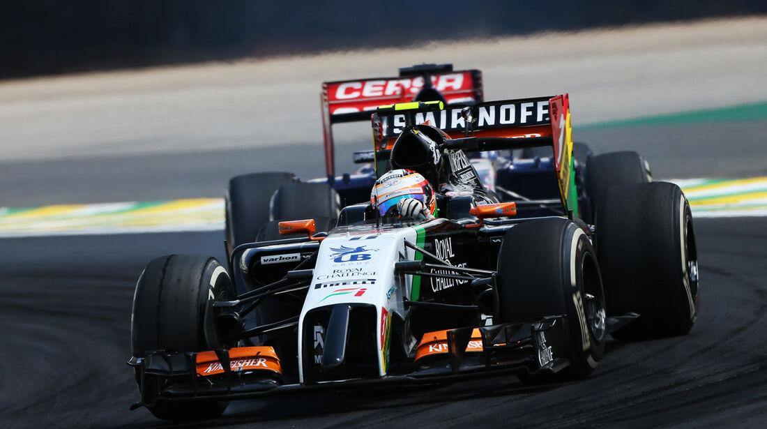 Sergio Perez - GP Brasilien 2014