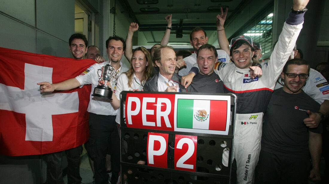Sergio Perez GP Malaysia 2012