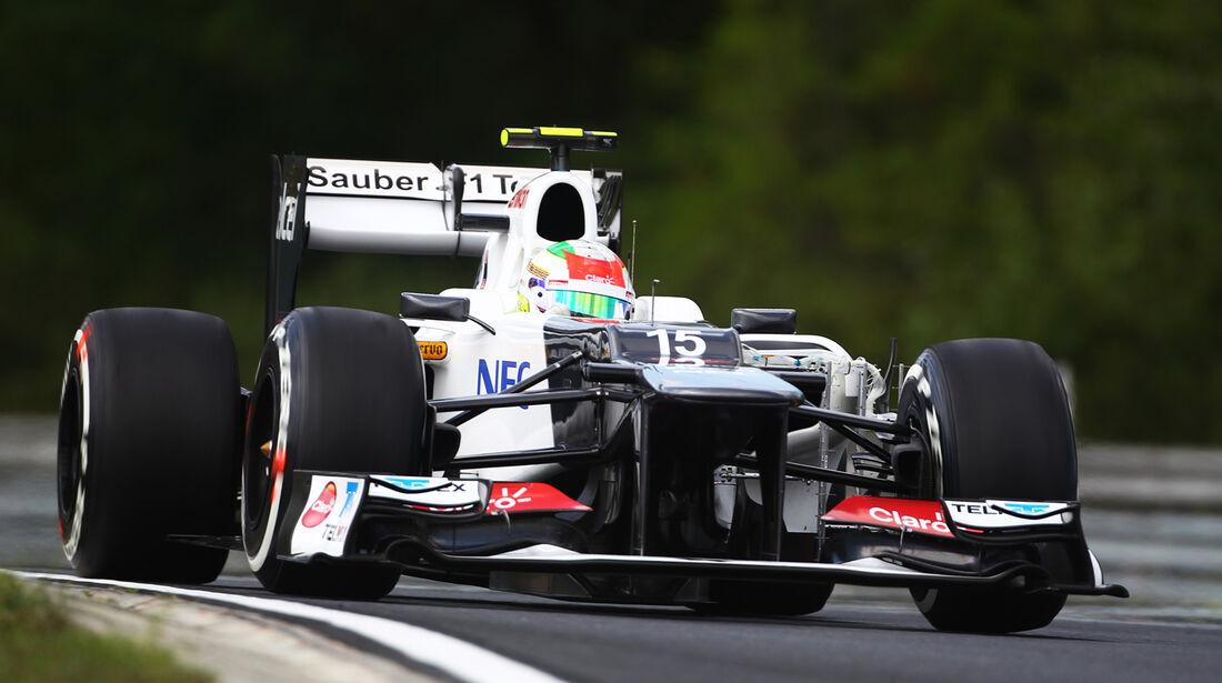 Sergio Perez GP Ungarn 2012
