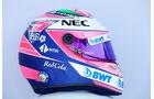 Sergio Perez - Helm - Formel 1 - 2018