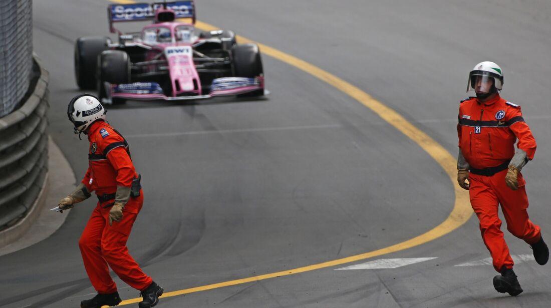 Sergio Perez - Marshalls - Formel 1 - GP Monaco - 26. Mai 2019