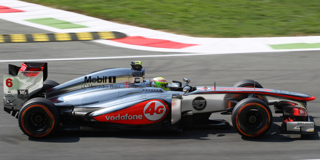 Sergio Perez - McLaren - Formel 1 - GP Italien - 6. September 2013