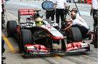 Sergio Perez - McLaren - GP Spanien 2013