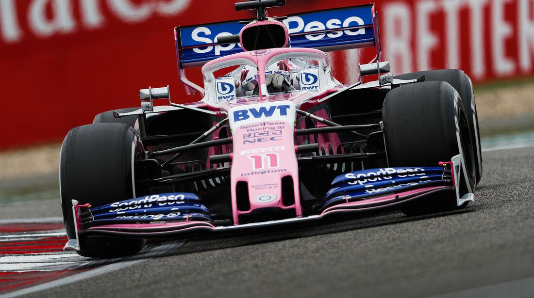 Sergio Perez - Racing Point - GP China 2019 - Shanghai