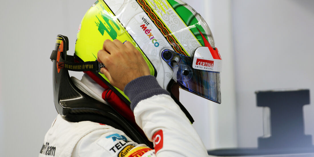 Sergio Perez - Sauber - Formel 1 - GP Kanada 2012 - 8. Juni 2012