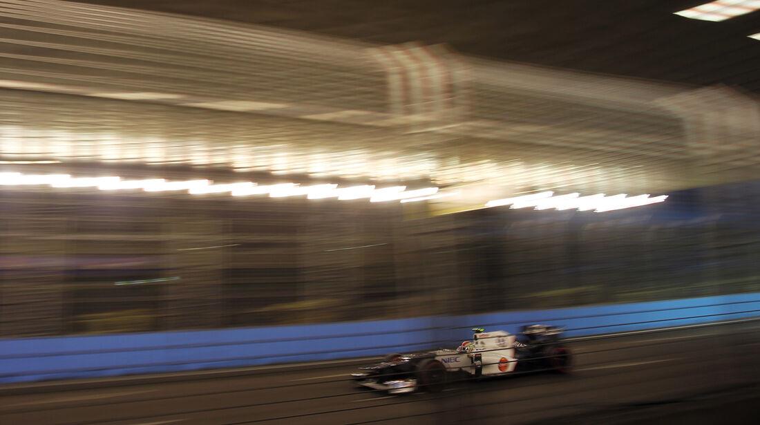 Sergio Perez - Sauber - Formel 1 - GP Singapur - 22. September 2012