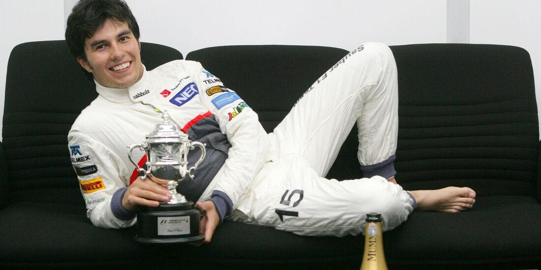 Sergio Perez Sauber GP Malaysia 2012